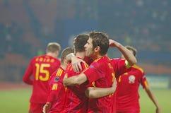 Goal celebrates Stock Image