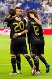 Goal celebration Royalty Free Stock Image