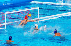 Goal for the Chinese Team Stock Image