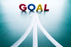 Goal concept Stock Image