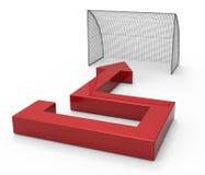 Goal concept Stock Photo
