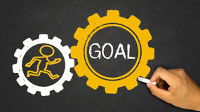 goal concept royalty free stock images