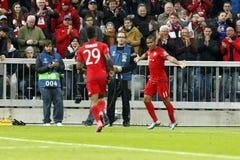 Goal Douglas Costa  Bayern Munich Stock Photo