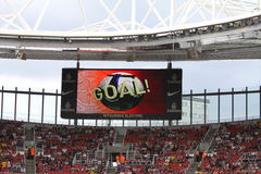 GOAL! in the Emirates Cup '10 Stock Images