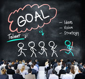 Goal Expectation Target Mission Aim Concept Royalty Free Stock Images