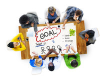 Goal Expectation Target Mission Aim Concept Royalty Free Stock Photography