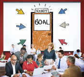 Goal Expectations Aim Opportunity Success Concept Stock Photos