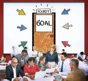 Goal Expectations Aim Opportunity Success Concept Stock Photos