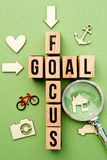 Goal Focus Royalty Free Stock Image