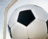 Goal! Football in the back of the net! Stock Images