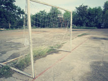 Goal football Royalty Free Stock Images