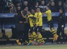 Goal Guillaume Hoarau Young Boys Berne v FC Naples Liga Europa Stock Photo