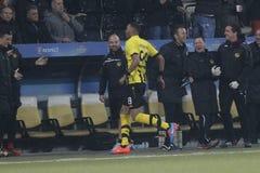 Goal Guillaume Hoarau Young Boys Berne v FC Naples Liga Europa Stock Images