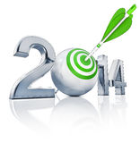 Goal 2014 Royalty Free Stock Images