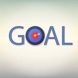 Goal icon. Stock Photos