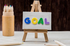 Goal idea Royalty Free Stock Photography