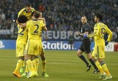 Goal John Terry FC Schalke v FC Chelsea 8eme Final Champion League Royalty Free Stock Photography