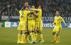 Goal John Terry FC Schalke v FC Chelsea 8eme Final Champion League Stock Photo