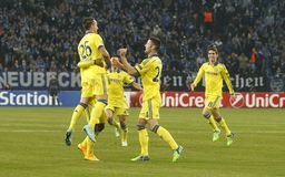 Goal John Terry FC Schalke v FC Chelsea 8eme Final Champion League Royalty Free Stock Photo