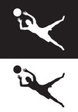 Goal keeper Stock Images