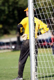 Goal keeper Royalty Free Stock Photo