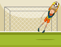 Goal keeper Royalty Free Stock Images