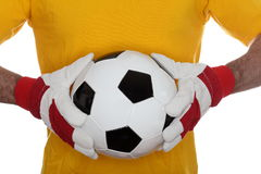 Goal keeper royalty free stock photography