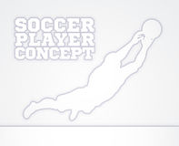 Goal Keeper Soccer Player Concept Royalty Free Stock Photo