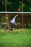 Goal keepwr Stock Photo