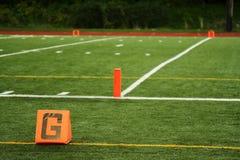 Goal line Stock Photography