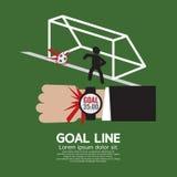 Goal Line Sport Stock Image