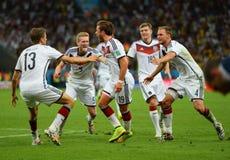 Goal Mario Götze  Coupe du monde 2014 Royalty Free Stock Images