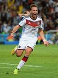 Goal Mario Götze  Coupe du monde 2014 Royalty Free Stock Photography