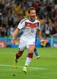Goal Mario Götze  Coupe du monde 2014 Stock Photos