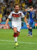 Goal Mario Götze  Coupe du monde 2014 Royalty Free Stock Image