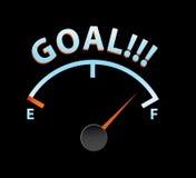 Goal meter Stock Photo