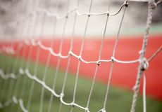 Goal net Stock Photography