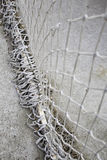 Goal nets Stock Images