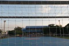 Goal Nets Futsal Stock Images