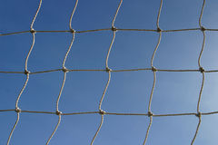 Goal Netting 1. Soccer Goal Netting, suitable for use as abstract or background Stock Photo