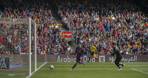 The Goal or not the Goal? Royalty Free Stock Photo