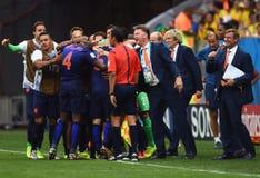 Goal pays bas Coupe du monde 2014 Royalty Free Stock Image