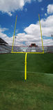 Goal post 2 royalty free stock photography