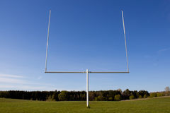 Goal Post Royalty Free Stock Images