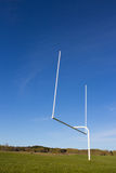 Goal Post Royalty Free Stock Photography