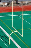 Goal Post. Football Goal Post Royalty Free Stock Image