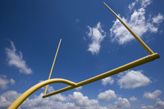 Goal post Stock Photos