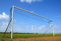 Goal post Royalty Free Stock Photos