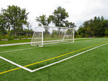 Goal posts Stock Images