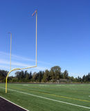 Goal Posts Royalty Free Stock Photo